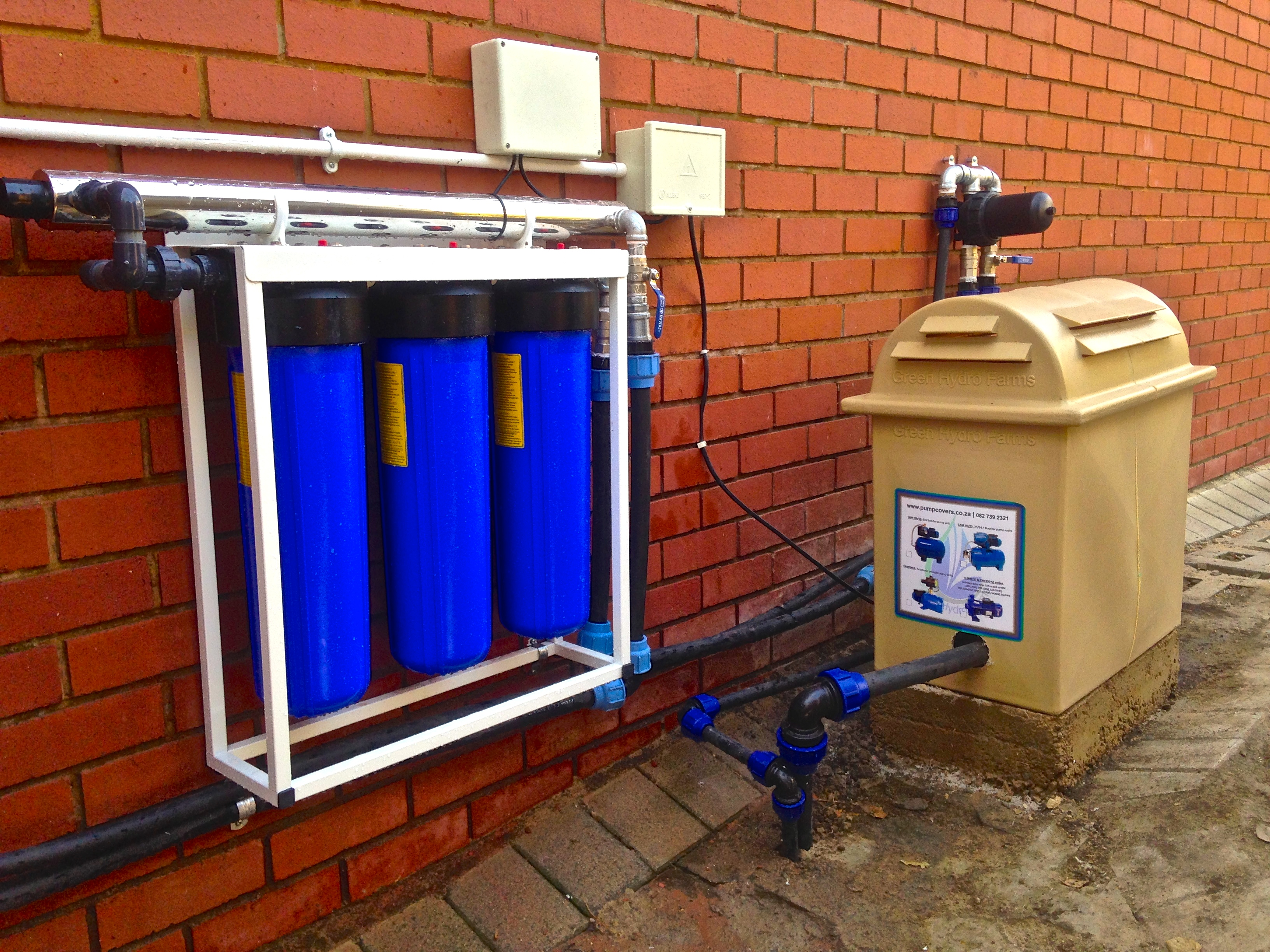 DHL Bryanston - Commercial Rainwater Harvesting and UV Filtration system