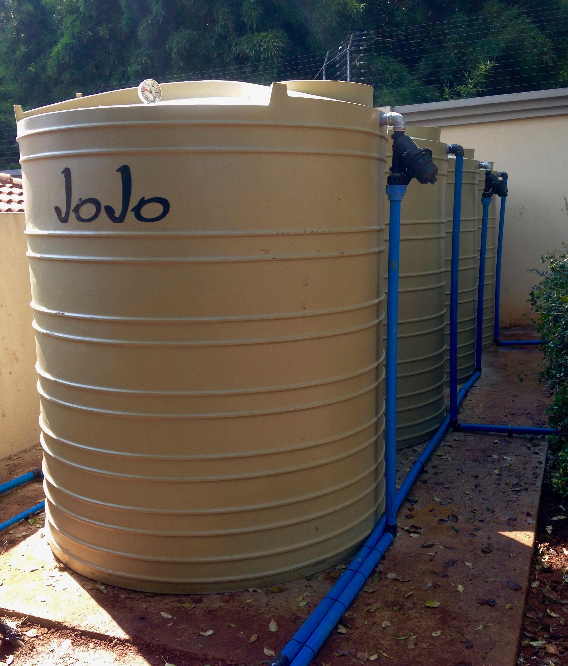 20 000L Jojo Storage tank system. Rainwater Harvesting System