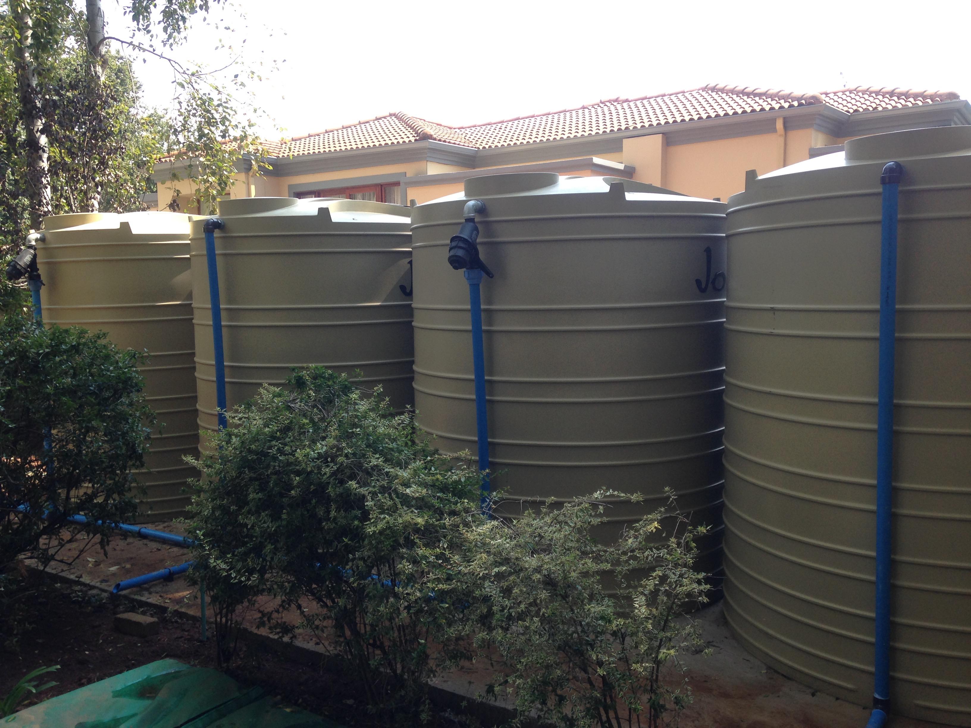 Rainwater Harvesting Storage tank system - Jojo Storage Tanks